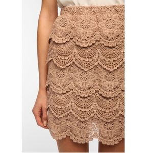 C.3 Urban outfitters lace skirt